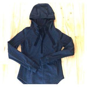 Three quarter inch pullover sweatshirt